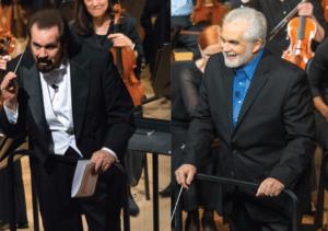 Maestro Maull gray hair vs black hair